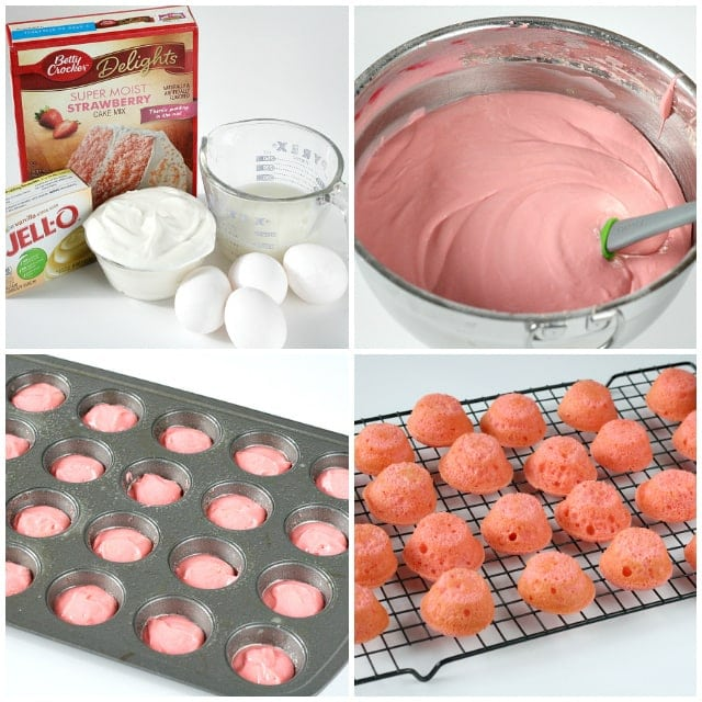 Strawberries and Cream Bites - Butter With a Side of Bread