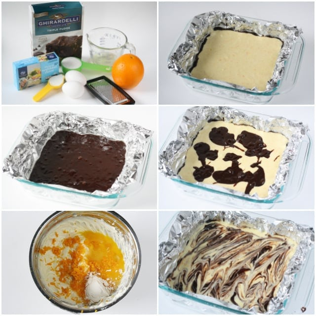 Orange Cheesecake Brownies - Butter With a Side of Bread