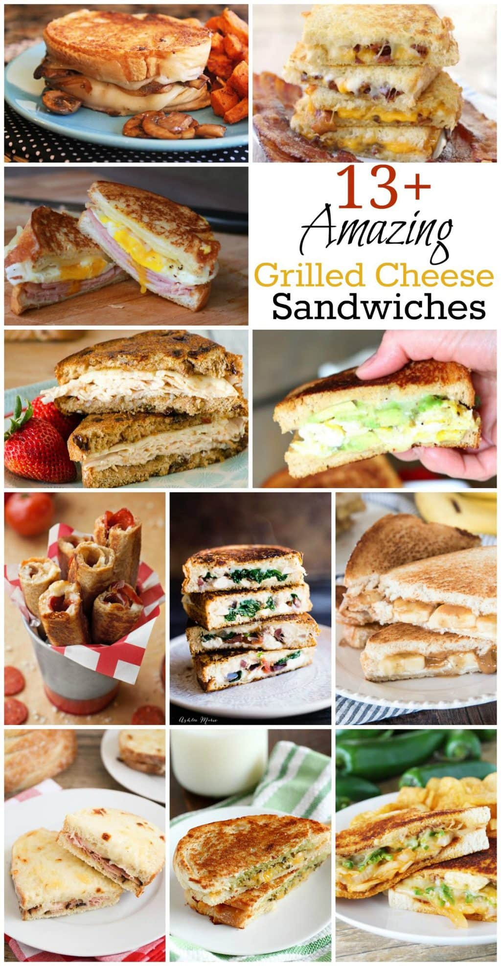 Amazing Grilled Cheese Sandwiches