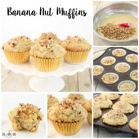 Banana Nut Muffins - Butter With A Side of Bread