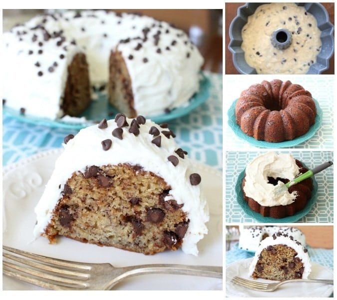 Chocolate Chip Banana Cake - Butter With A Side of Bread