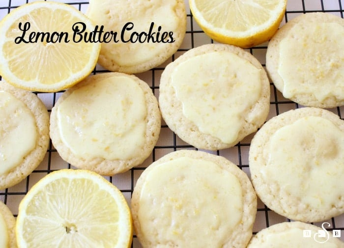 LEMON BUTTER COOKIES - Butter with a Side of Bread