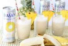 Tropical Banana Sparklers - Butter With A Side of Bread