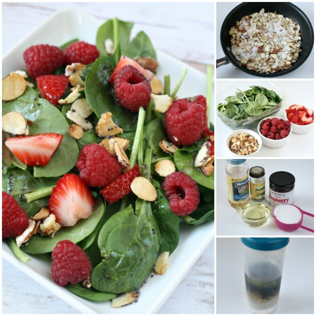 Berry Spinach Salad - Butter With a Side of Bread