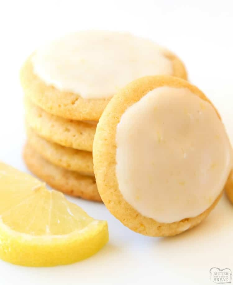 Lemon Butter Cookiesis one of my favorite butter cookie recipesand lemon desserts! Every time I make them I'm surprised at just how GOOD theselemon cookiestaste.