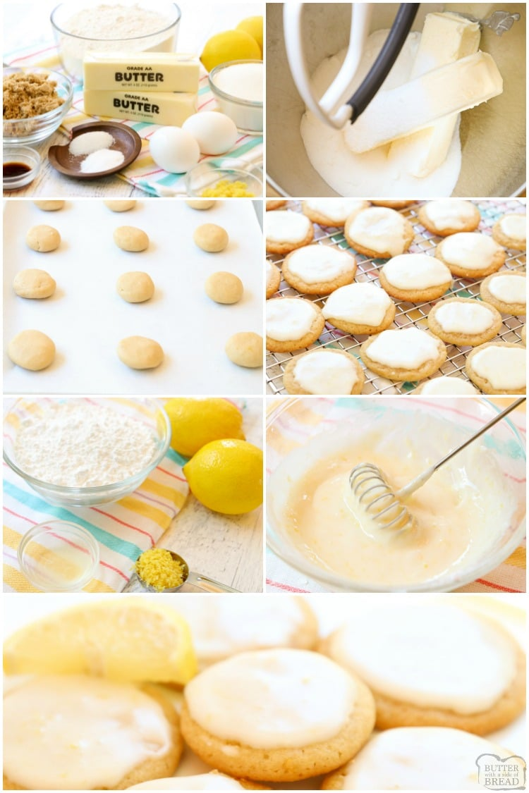 How to make lemon butter cookies