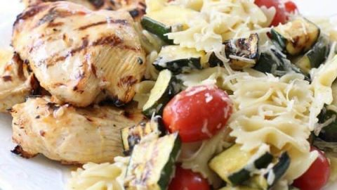 Grilled Italian Chicken Pasta