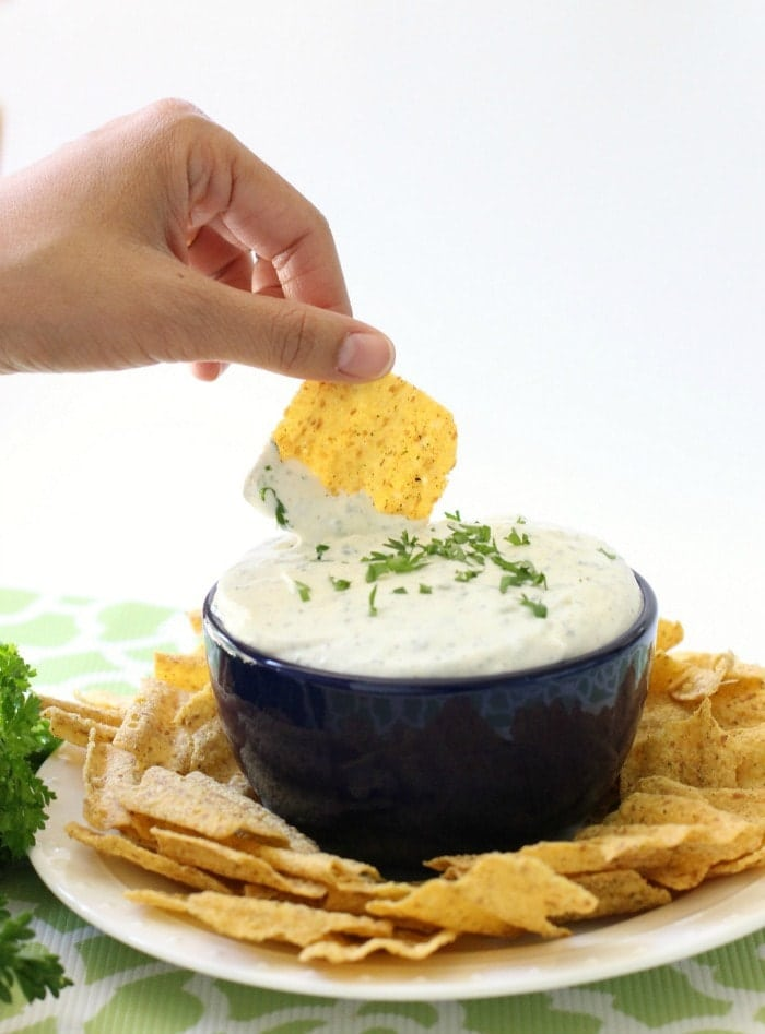 Homemade Ranch Dip - Butter With A Side of Bread