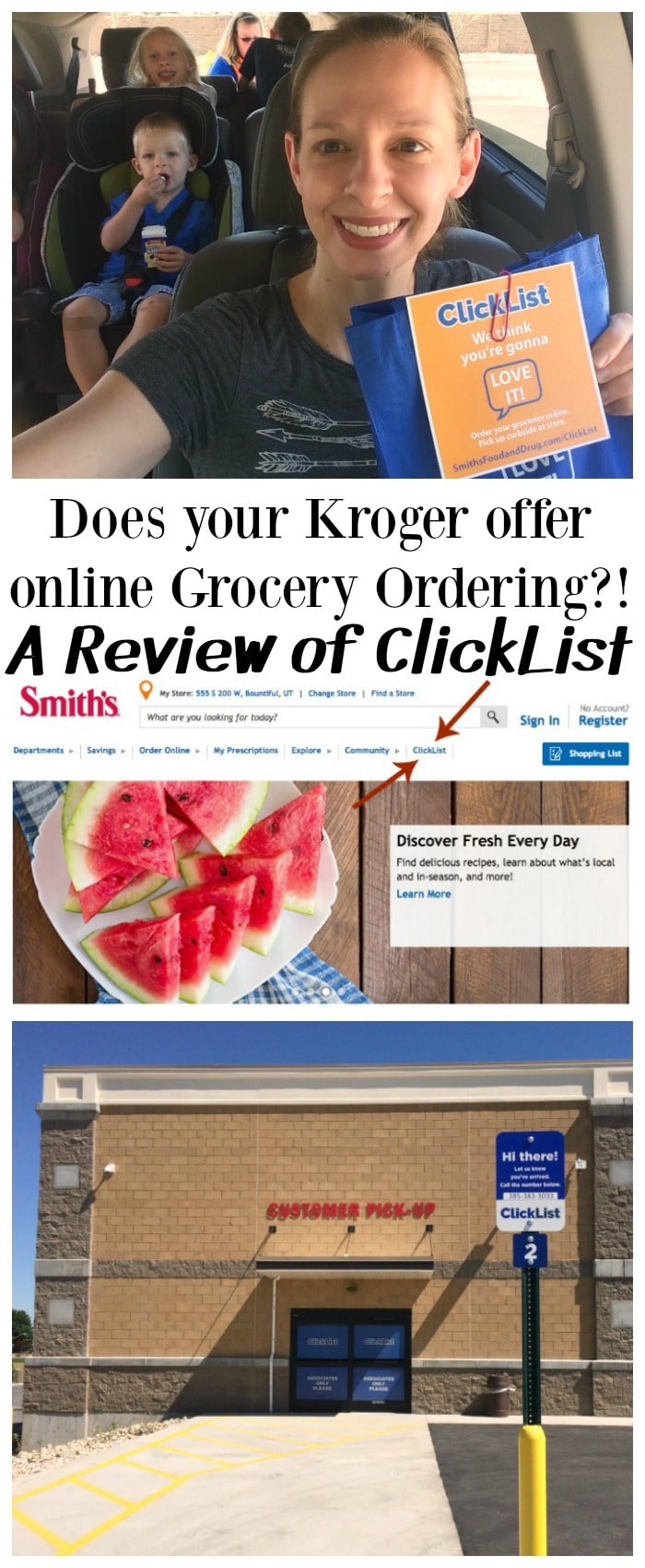 Online grocery shopping kroger