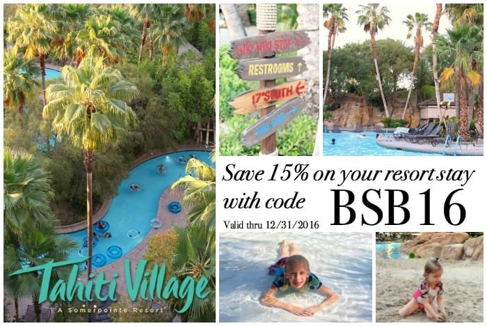 Tahiti village las vegas coupons