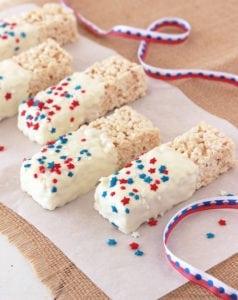patriotic rice krispie