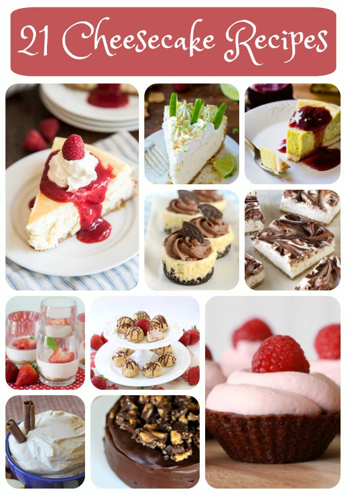 21+ Cheesecake Recipes - Butter With A Side of Bread