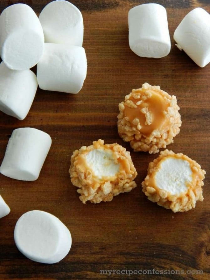 Caramel Marshmallows