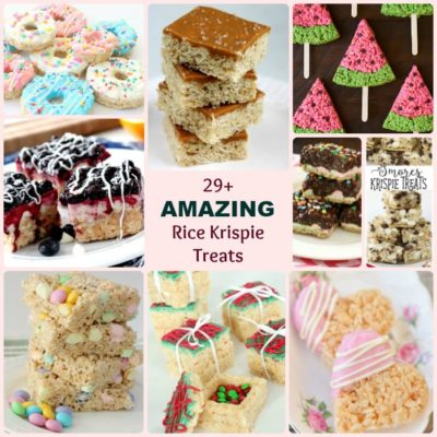 BEST RICE KRISPIE TREAT RECIPES
