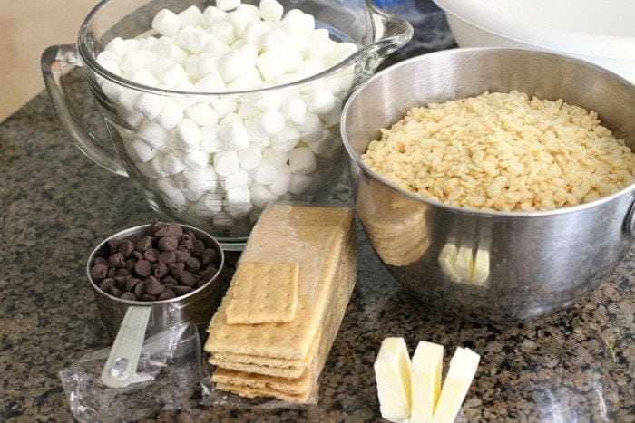 S'mores Krispie Treats - Butter With A Side of Bread