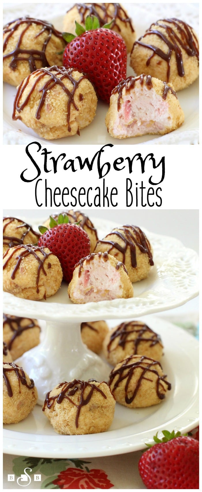 Strawberry Cheesecake Bites - Butter With A Side of Bread