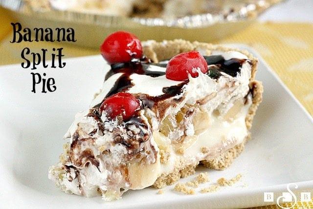 Banana Split Pie Butter With A Side Of Bread