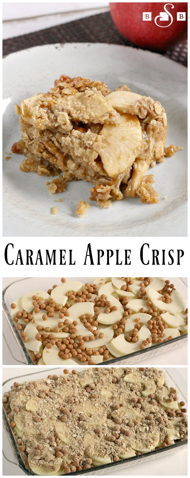 Vanilla Apple Crisp With Caramel Sauce Recipe — Dishmaps