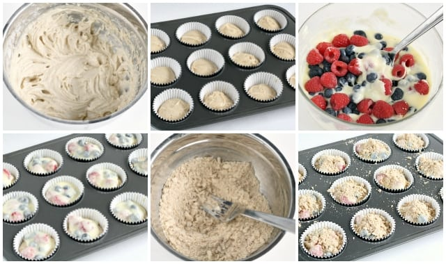 Double Berry Cheesecake Muffins - Butter With a Side of Bread