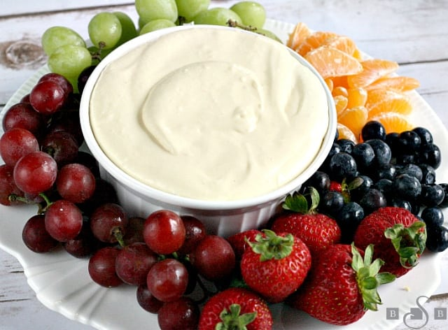 Orange Creamsicle Fruit Dip - Butter With a Side of Bread