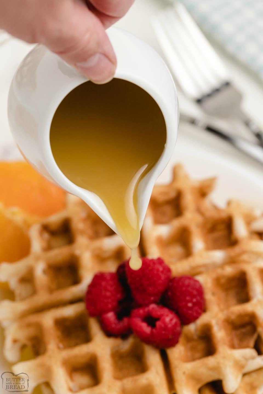 Homemade Vanilla Butter Syrup