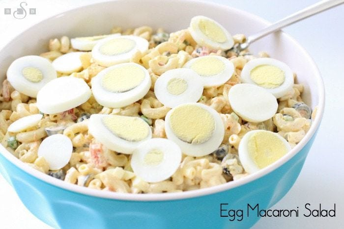 Egg Macaroni Salad - Butter With A Side of Bread
