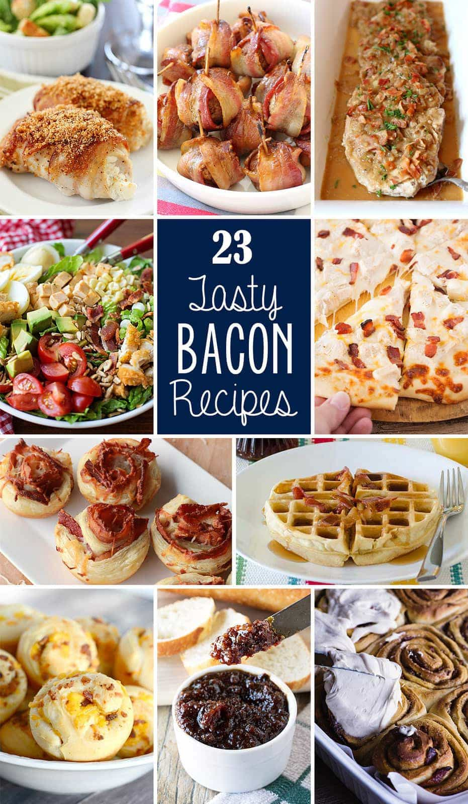 Bacon Wrapped Meatballs & more BACON RECIPES - Butter With A Side of Bread