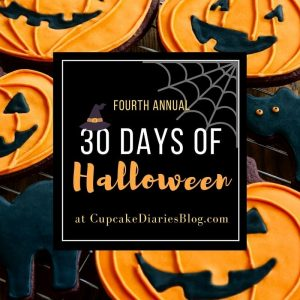 30 Days of Halloween 2016 at CupcakeDiariesBlog.com