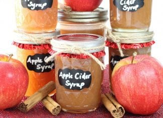 Apple Cider Syrup - Butter With A Side of Bread