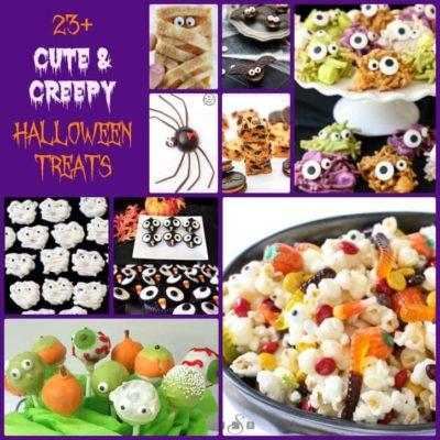 CUTE & CREEPY HALLOWEEN TREATS