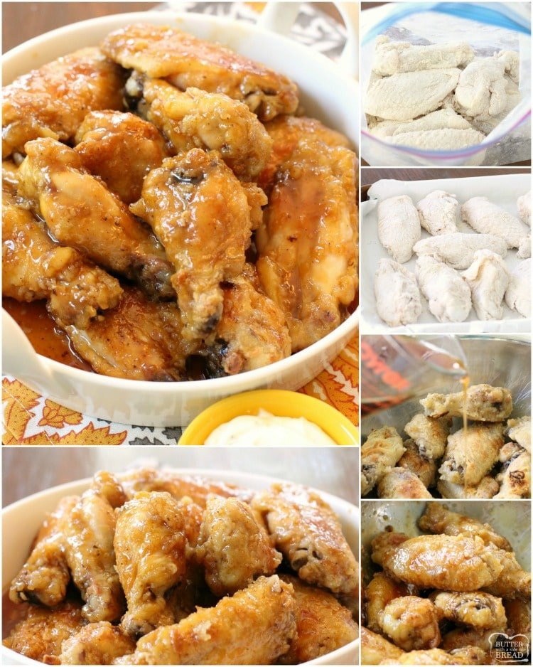 How to bake honey glazed chicken wings. Honey Glazed Chicken Wings are easily my favorite kind of baked chicken wings. Smothered with a delicious sweet glaze, this baked chicken wings recipe are literally finger-lickin' good!