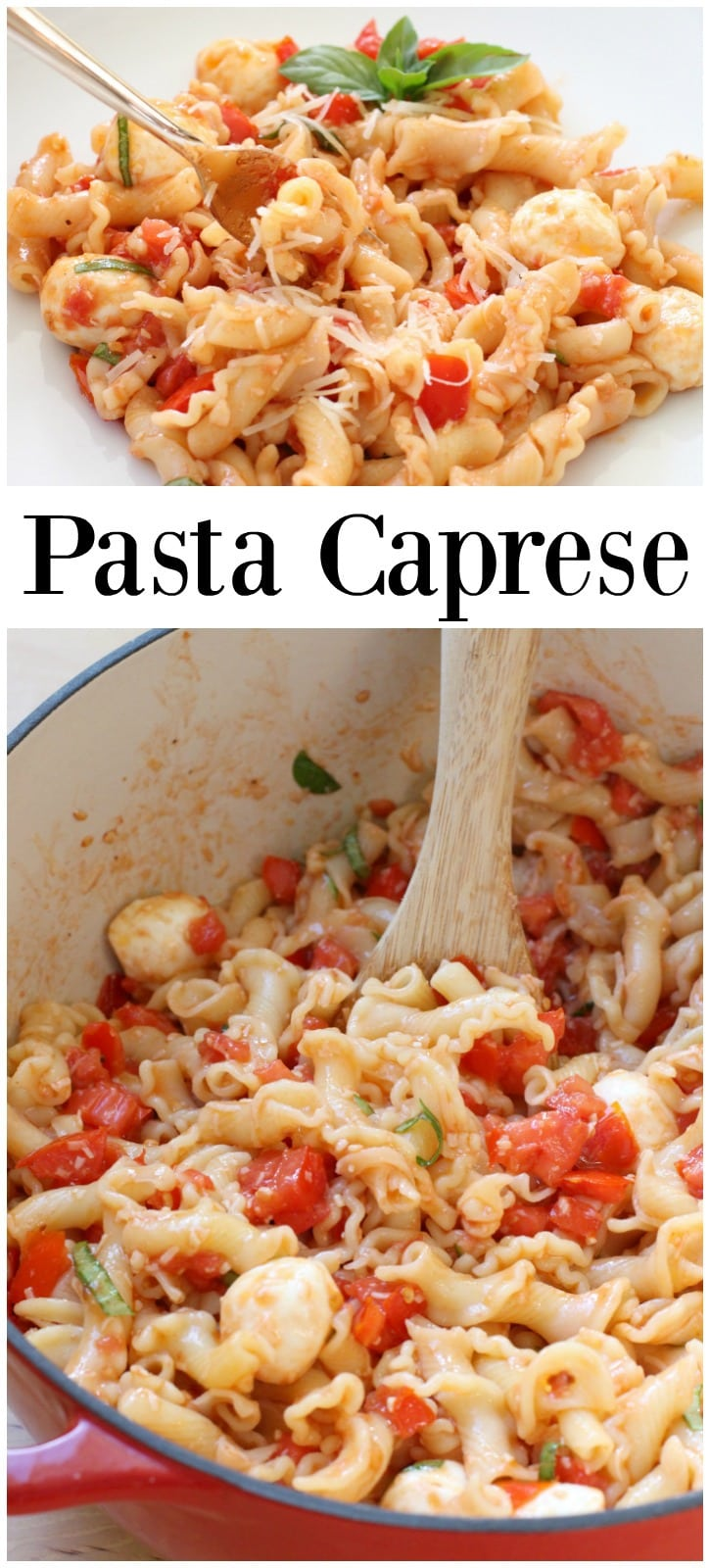 Pasta Caprese - Butter With A Side of Bread