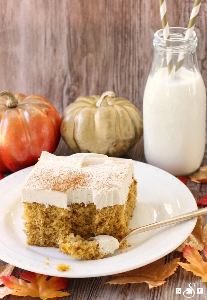 Pumpkin Poke Cake - Butter With A Side of Bread