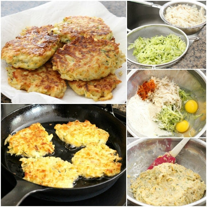 Cheesy Zucchini Fritters - Butter With A Side of Bread