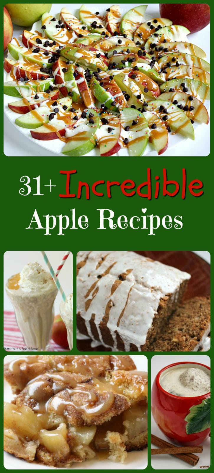 Incredible Apple Recipes - Butter With A Side of Bread