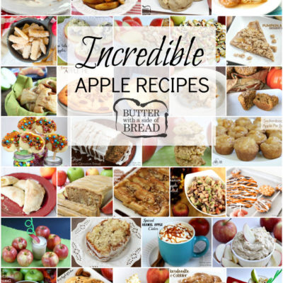 INCREDIBLE APPLE RECIPES