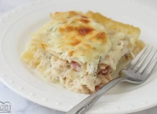 Chicken Cordon Bleu Lasagna - Butter With A Side of Bread