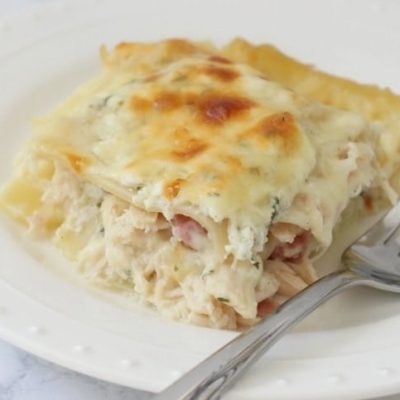CHICKEN CORDON BLEU LASAGNA