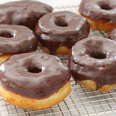 Easy 15-Minute Chocolate Glazed Donuts - Butter With A Side of Bread