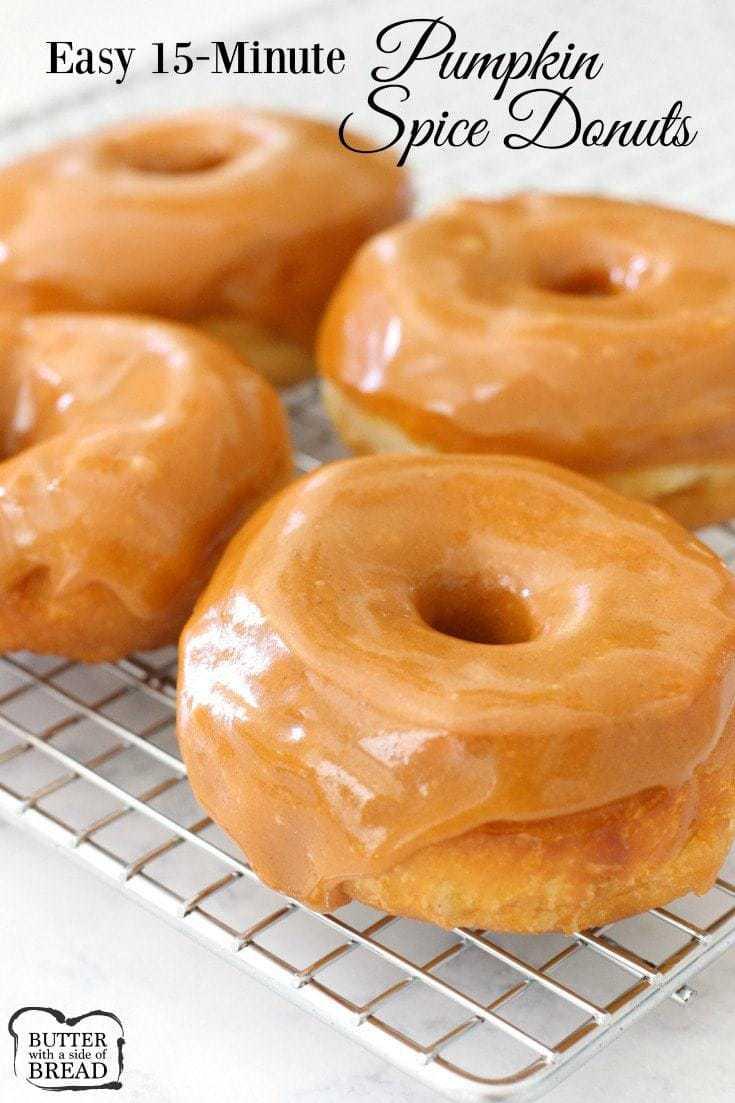 Pumpkin Spice Cake Donut Recipe