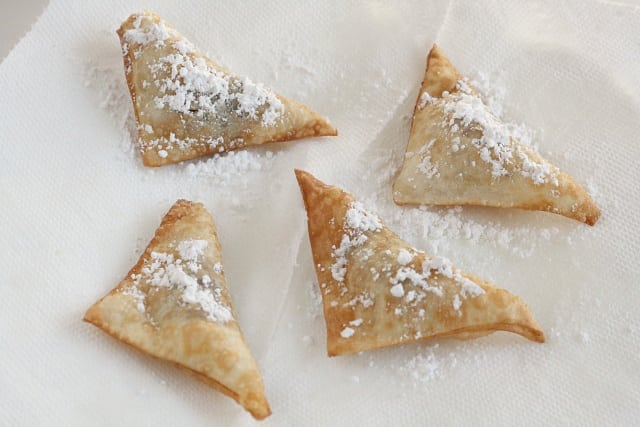 Nutella Wontons - Butter With a Side of Bread