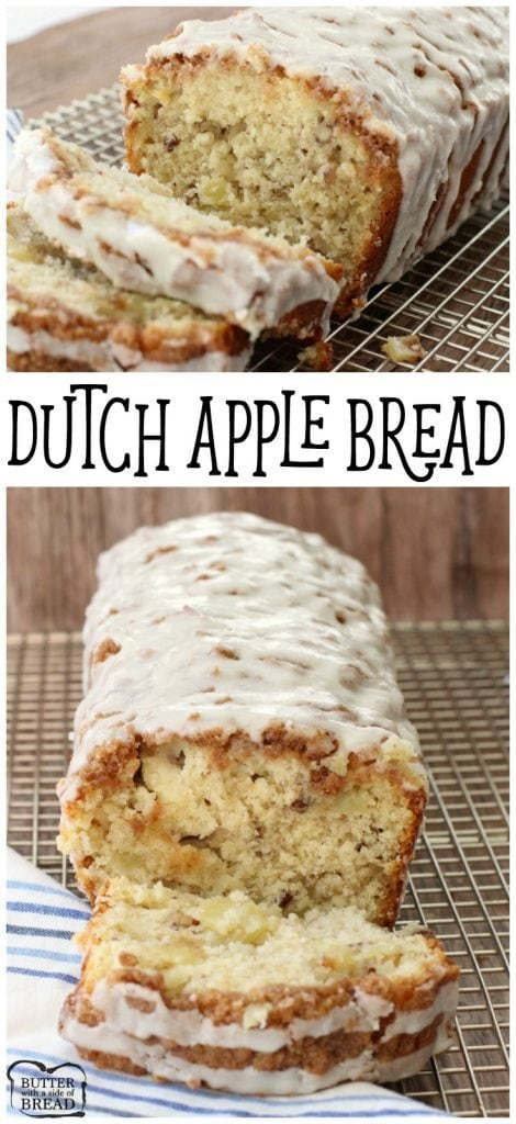 Dutch Apple Bread Recipe Butter With A Side Of Bread