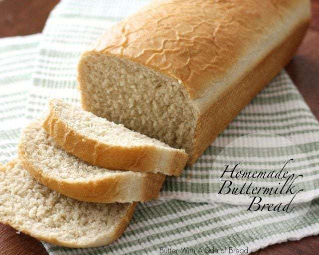 Homemade Buttermilk Bread ~ Butter With A Side of Bread