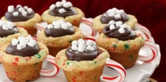Hot Chocolate Cookie Cups - Butter With A Side of Bread