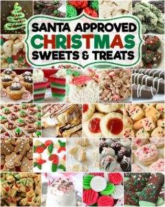 Best collection of Christmas desserts ever- it's even Santa approved! Our Christmas dessert recipes are perfect for holiday parties, cookie exchanges and neighbor goodie plates!