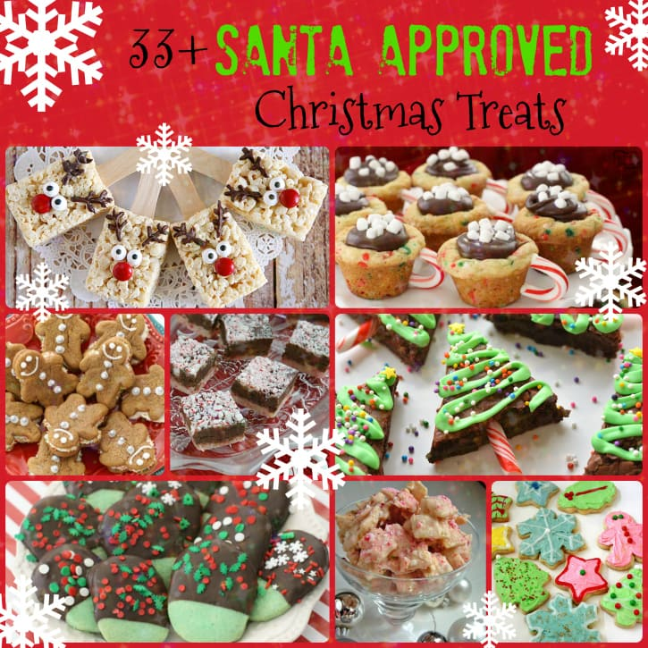 33+ Santa Approved Christmas Treats - Butter With A Side of Bread