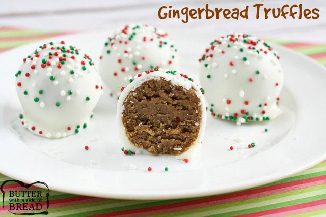 Gingerbread Truffles - Butter With a Side of Bread