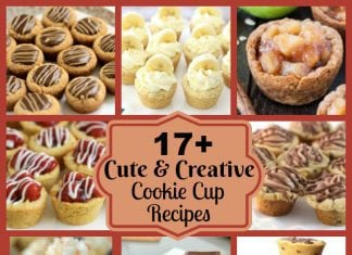 Cute & Creative Cookie Cup Recipes