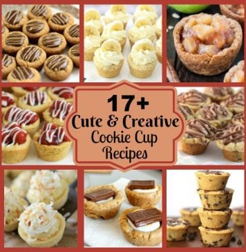 Cute & Creative Cookie Cup Recipes