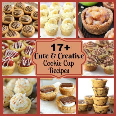 17+ CUTE & CREATIVE COOKIE CUP RECIPES
